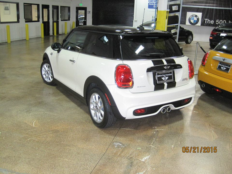 Mini S Cooper – Crystalline Tint and racing stripes