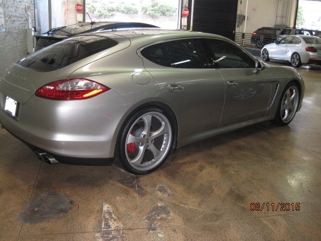2015 Porsche Panamera Turbo S – Tint with 3M Crystalline 60 all around